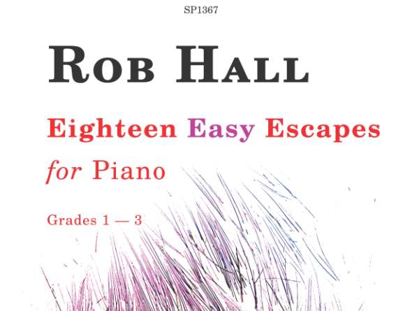 rob hall eighteen easy escapes for piano sp1367